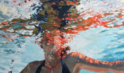 Beautiful Glitch Paintings by Chrissy Angliker