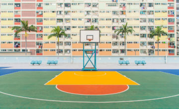 Photography of Basketball Courts over the World